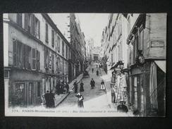 PARIS MONTMARTRE RUE THOLOZE - District 18