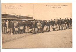 Interneringskamp Zeist.  Oorlog 1914-1918. Grande Guerre. Distribution De La Soupe - Zeist