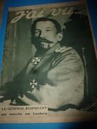 1917 J'AI VU: Héroïque Mme Pellequer à Quesmy;PENSYLVANIA;La Foudre Bizarre;Une Héroïque Poule Belge;Guerriers Cafres - French