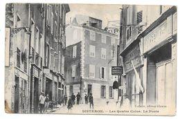 SISTERON - LES QUATRE COINS - LA POSTE - Sisteron