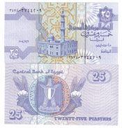 Egitto Egypt 25 Piastres 2005 Sign.22 FDS UNC Pick 57 F LOTTO 265 - Egipto