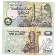 EGYPT EGITTO,50 PIASTRES  2004 SIGN 22 Pik 62g FDS  UNC LOTTO 266 - Egipto