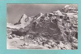 Old Postcard Of Mürren Mit Eiger, Berne, Switzerland,Posted,Q52. - BE Berne