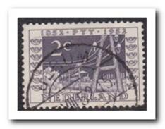 Nederland 588 P, Gestempeld - Plaatfouten En Curiosa