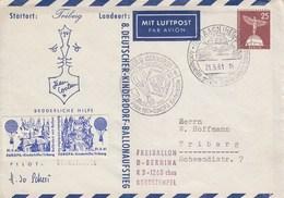 B PU 19a  8. Deutscher Kinderdorf - Ballonaufstieg, AAch (Hegau - Enveloppes Privées - Oblitérées