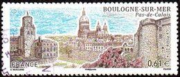Oblitération Cachet à Date Sur Timbre De France N° 4862 BOULOGNE-SUR-MER (Pas-de-Calais) - France