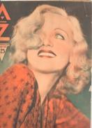 Revue AZ N°25/1932-Détail Voir Descriptif- Genval, Brasserie Wielemans, Boxe Agimont, Jardin, Détective, Visé, Scout(aub - Livres, BD, Revues