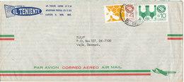 Mexico Air Mail Cover Sent To Denmark 21-9-1981 ?? - México