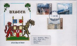 Great Britain First Day Cover To Celebrate Ulster Paintings 1971. - FDC