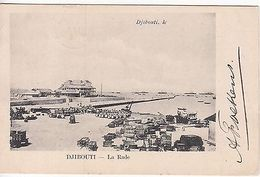 Djibouti: La Rade Postcard; Djibouti To Zeist, Holland, 5-16 November 1905 - Otros - Europa