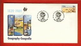 RSA 1989 Cover Mint Geography 771 - Geography