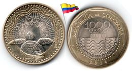 Colombie - 1000 Pesos 2014 (UNC) - Colombia