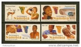 NAMIBIA 2003 MNH Stamp(s) Rural Development 424-427 - Namibië (1990- ...)