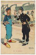 MILITARIA GUERRE 14/18 MARINE : Nos Marins - La Censure - Illustrateur Gervèse - Voyagé En 1914 Toulon Aude - War 1914-18