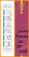 France**LUXE Carnet Personnages Célèbres 1991 N° BC2687, Neuf Et Non Plié, De 6 Timbres Et 2 Vignettes, P 2681 à 2686, L - Markenheftchen