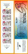 France**LUXE Carnet Personnages Célèbres 1989 N° BC2570, Neuf Et Non Plié, De 6 Timbres Et 2 Vignettes, P 2564 à 2569, L - Markenheftchen