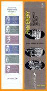 France**LUXE Carnet Personnages Célèbres 1987 N° BC2460, Neuf Et Non Plié, De 6 Timbres Et 2 Vignettes, P 2454 à 2459, V - Markenheftchen
