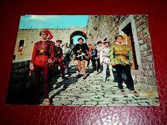 Cartolina Barletta - Costumi D' Epoca 1977 - Bari