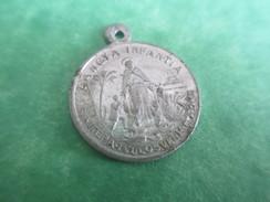Petite Médaille Religieuse/ Sancta Infantia/Vierge Marie ,/Début XXéme         CAN390 - Religion & Esotericism