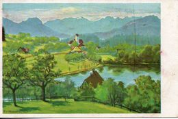 Allemagne. Weissensberg. Carte Illustrée - Weissenburg