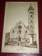 Cartolina Trani - Il Duomo 1932 - Bari