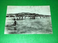 Cartolina Pesaro - Spiaggia 1955 - Pesaro