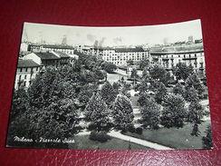 Cartolina Milano - Piazzale Susa 1956 - Milano (Milan)