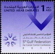 UAE - 2011 - Cancer Control Conference - Mint Stamp - United Arab Emirates
