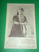 Cartolina Margherita Di Savoia - Prima Regina D' Italia 1930 Ca - Cartoline
