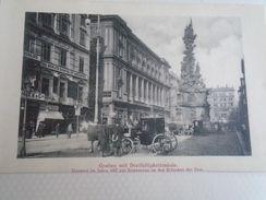 AD016.34 Austria WIEN -Graben Mit Dreifaltigkeitssäule -Erlöschen Der Pest 1687 - The Berlitz School  Ca 1900  Old Print - Ohne Zuordnung