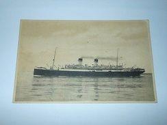 Cartolina Navigazione Generale Italiana Flotte Riunite - S/S Roma 1940 Ca - Cartoline