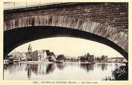 Noyen-sur-Seine (Sarthe) - Un Beau Coin Sous Le Pont - Edition Niepcerod - Other Municipalities