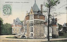Bonnétable (Sarthe) - Le Château, Vue D'ensemble - Edition G. Roncière - Carte Colorisée - Bonnetable