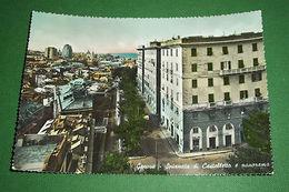 Cartolina Genova - Spianata Di Castelletto E Panorama 1957 - Genova