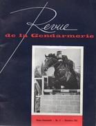 Revue De La Gendarmerie. Décembre 1963. 64 Pages. Police - Boeken, Tijdschriften, Stripverhalen