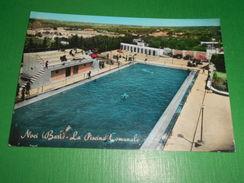 Cartolina Noci ( Bari ) - La Piscina Comunale 1962 - Bari