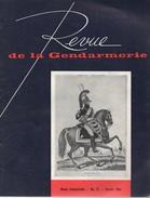 Revue De La Gendarmerie. Février 1964. 64 Pages. Police - Boeken, Tijdschriften, Stripverhalen