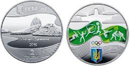 Ukraine - 2 Hryvni 2016 UNC ХХХІ Summer Olympic Games Rio Brazil Lemberg-Zp - Oekraïne