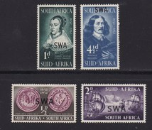 SOUTH WEST AFRICA, 1952, Mint Hinged Stamp(s),  Jan Van Riebeeck, MI 269-273, #781 (4 Values Only) - South West Africa (1923-1990)