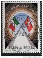 PIA - ITALIA - 2006 : Centenario Dell' Inaugurazione Del Traforo Del Sempione  - (SAS 2889) - 6. 1946-.. Repubblica