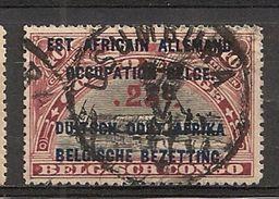 RUANDA URUNDI 47 T14 USUMBURA - 1916-22: Oblitérés