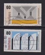 GERMANY 1983 Used Stamp(s) Bauhaus Nrs. 1164-1166 2 Values Only - Used Stamps