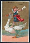 NANCY:RARE Carte PUB (fin XIX ème Siècle) De La Maison J. Matern, Parfumeur, Fondée En 1871 - Nancy