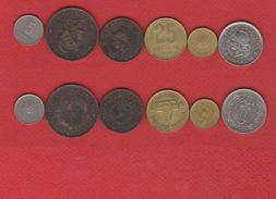 Argentine / Lot De 6 Monnaies - Argentina