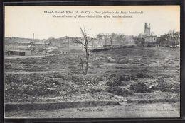 CPA 62 - Mont-Saint-Eloi, Vue Générale Du Pays Bombardé - Autres Communes