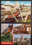 Z04 - Germany - Wuppertal - Schwebebahn - 2 Used Cards - Metro