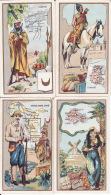 4 Chromos, Colonies, Outremer, Chicorée à La Bergère, Emile Bonzel Haubourdin - Sonstige