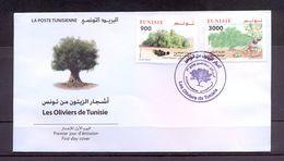 Tunisia/Tunisie 2017 - FDC - Olive Trees From Tunisia - MNH** Excellent Quality - Tunisia