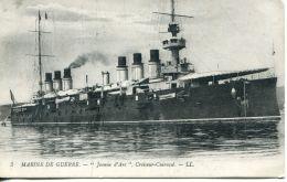 """N°54521 -cpa """"Jeanne D'Arc"""" Croiseur Cuirassé - Guerra"""