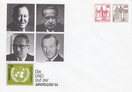 B Mi.Nr. PU 102** Die UNO Auf Der NAPOSTA'81, Stuttgart - Berlin (West)